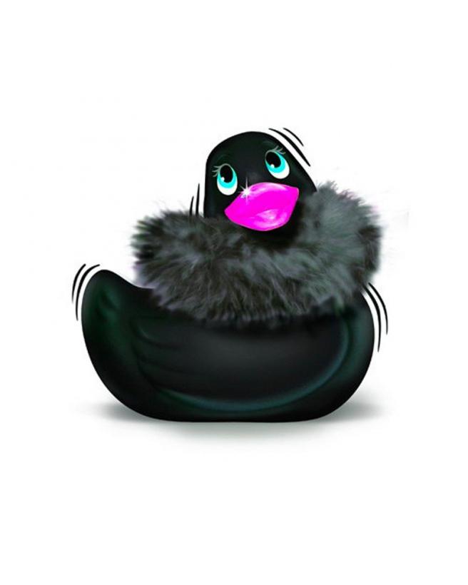 canard-vibrant-noir-fourrure-duckie-paris-black-1