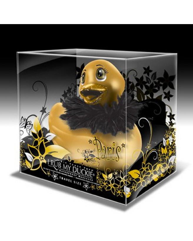 petit-canard-vibrant-gold-fourrure-duckie-paris-travel-gold-2